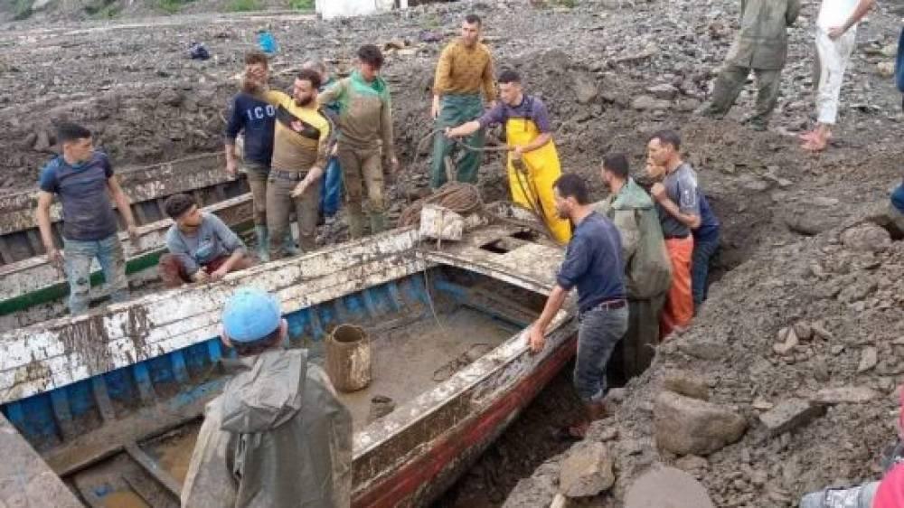 خسائر كبيرة جراء التساقطات المطرية نواحي مدينة شفشاون (صور)