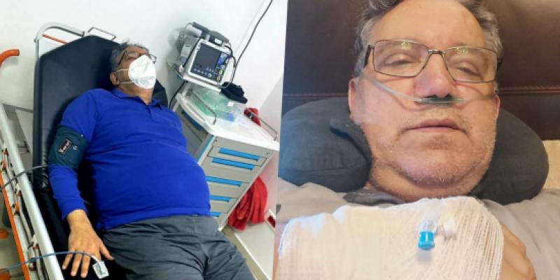 """تدهور الحالة الصحية للفنان الحاج يونس بسبب """"كورونا"""""""