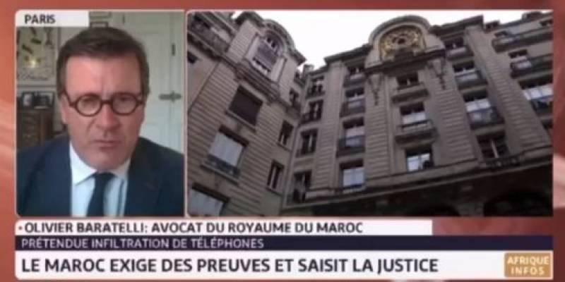 المحامي أوليفير باراتيلي: المغرب لم يكن لديه أي اتصال تجاري بشركة NSO (فيديو)