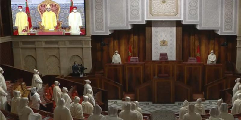 """بسبب """"كورونا"""".. اقتصار الحضور على عدد محدود من البرلمانيين خلال افتتاح الدورة التشريعية"""